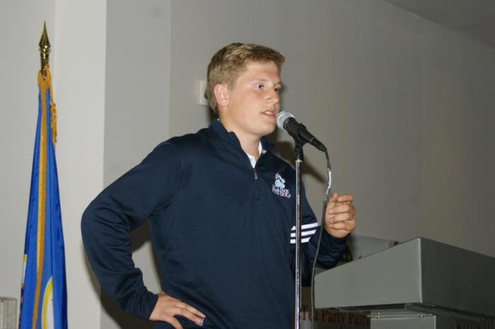 Mason Landborg (Photo Courtesy of NMTPP)